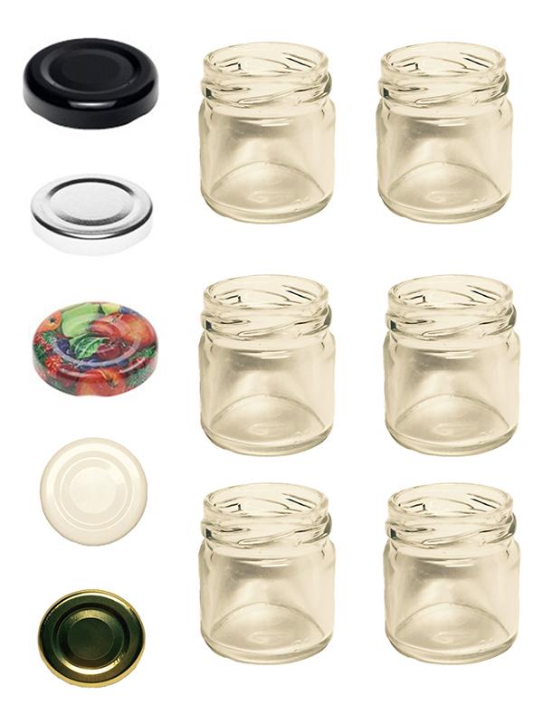 100 sturzgl ser 53 ml marmeladengl ser einmachgl ser einweckgl ser to 43 obst ebay. Black Bedroom Furniture Sets. Home Design Ideas