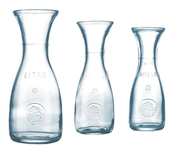 weinkaraffe litros garrafa decantadores vaso de vino tinto 0 25 0 5 1 0 litros de nuevo. Black Bedroom Furniture Sets. Home Design Ideas