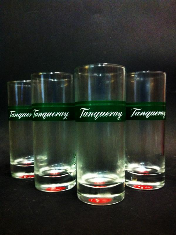 6 tanqueray london dry gin exclusiv gl ser glas ebay. Black Bedroom Furniture Sets. Home Design Ideas